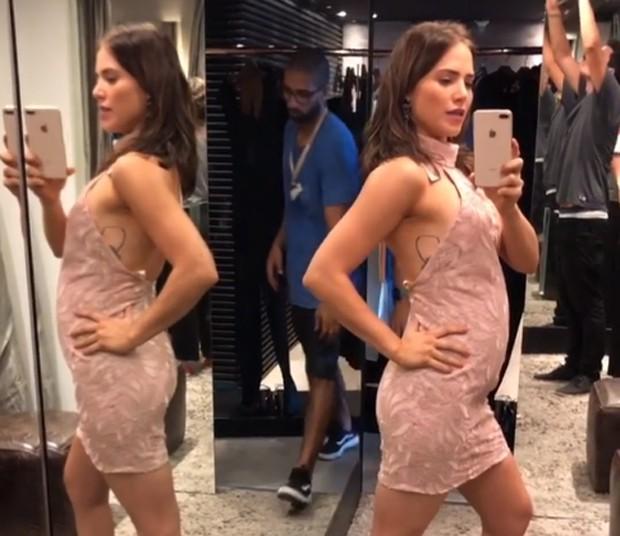 Letícia Colin como Rosa em Segundo Sol (Foto: Reprodução/Instagram)