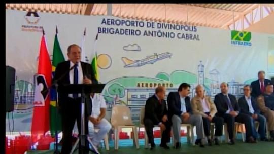 Após dois meses de contrato assinado, Aeroporto de Divinópolis ainda não retomou os voos