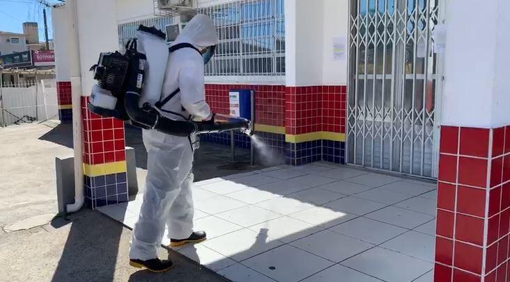 Após caso confirmado de coronavírus, postos de Saúde de São José são fechados