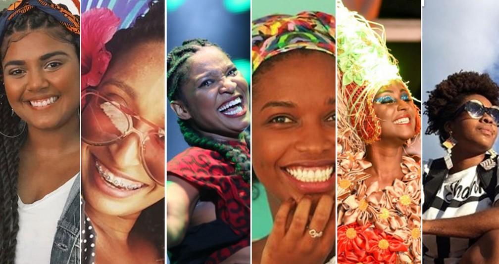 Veja relatos de baianas sobre o Dia Nacional da Mulher Negra — Foto: Montagem/G1