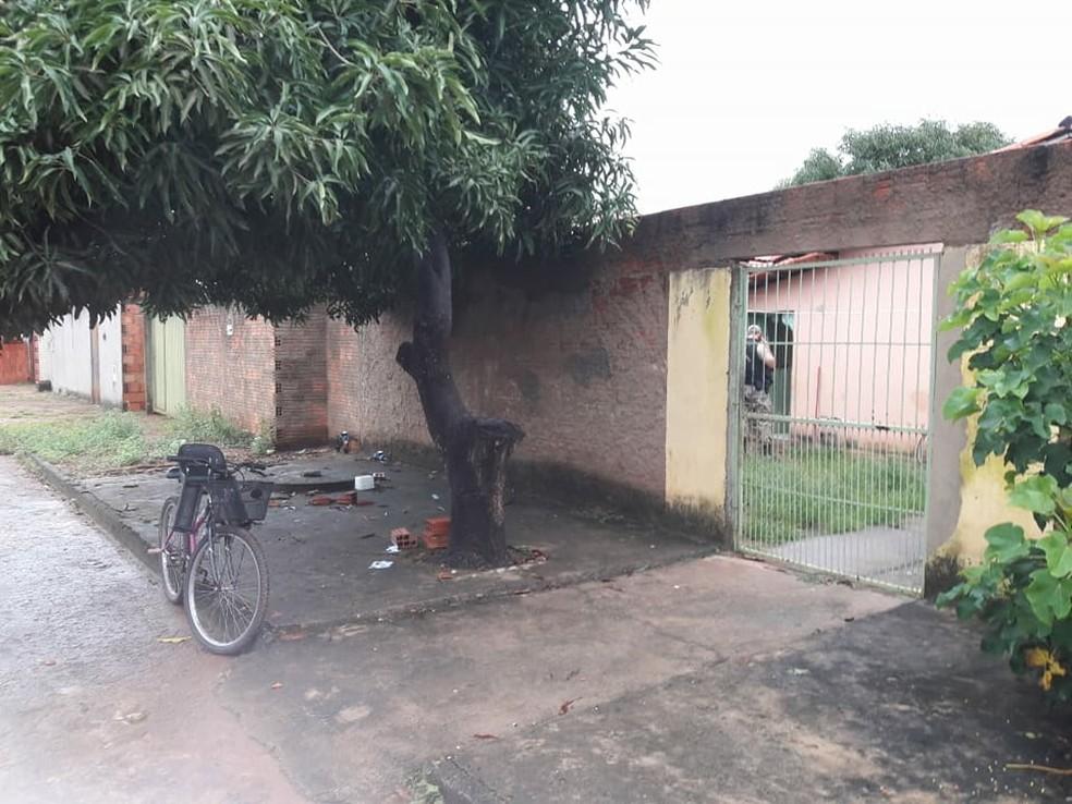 No Tocantins, operação é realizada em Paraíso do Tocantins (Foto: Naicon Lemes/TV Anhanguera)