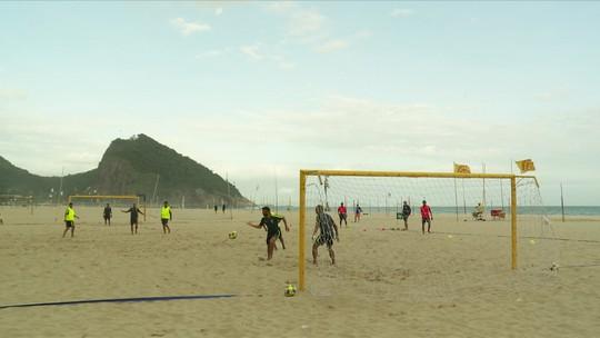 Baile de favela: quarteto da Zona Sul do Rio tenta levar Brasil ao hexa mundial na areia