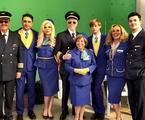 Elenco de 'Brasil a bordo'   Reprodução