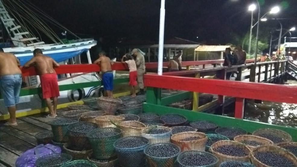 whatsapp image 2019 04 03 at 22.22.36 2  - Navio começa a naufragar e consegue parada emergencial em porto de Barcarena, no PA
