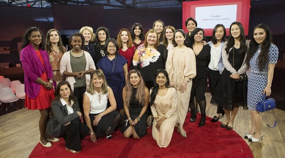 Empreendedoras finalistas do Cartier Women's Initiative Awards (CWIA) 2019 (Foto: Divulgação)