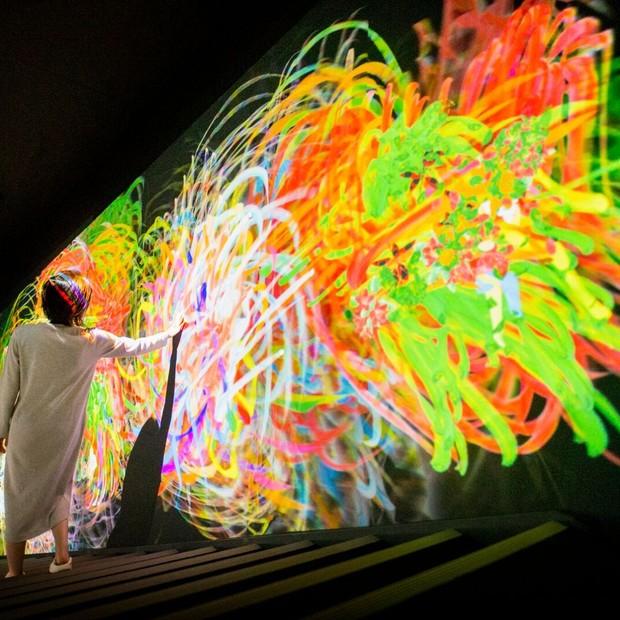Digital Art Museum - grafitti (Foto: Divulgação )
