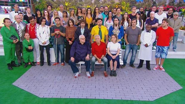 A Praça é Nossa homenageia o diretor Marcelo de Nóbrega após infarto (Foto: Divulgação/SBT)