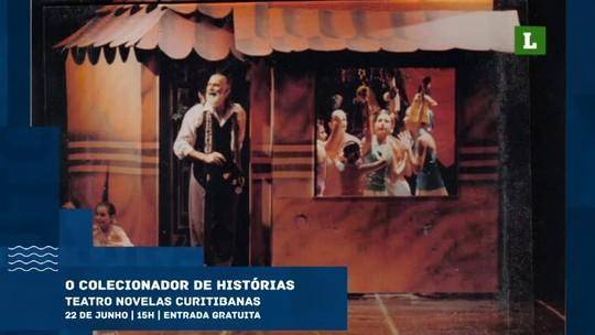 Confira as atrações em Curitiba e no litoral com o Minuto Cultural da semana