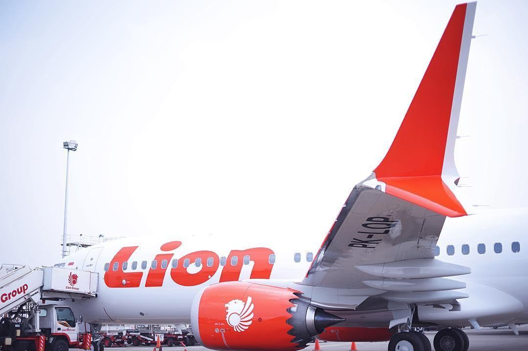 Avião da Lion Air (Foto: Reprodução Instagram)