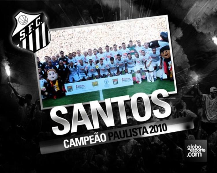 Santos  Campeão Paulista 2010  f6620bbefabf9
