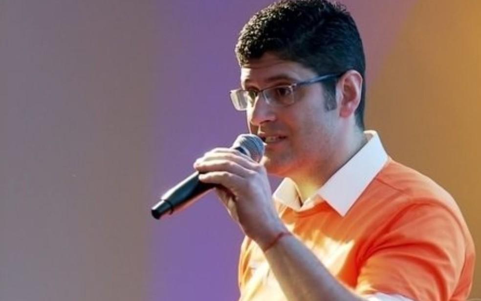 Rogerio Chequer, candidato ao governo de SP pelo Partido Novo (Foto: Reprodução/TV Globo)