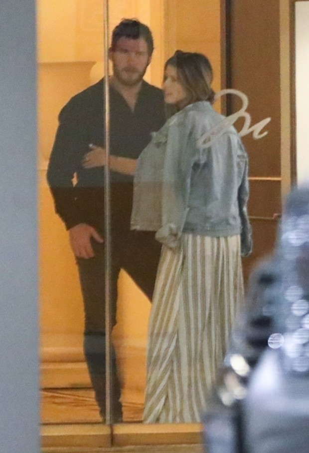 Katherine Schwarzenegger e Chris Pratt (Foto: BACKGRID)
