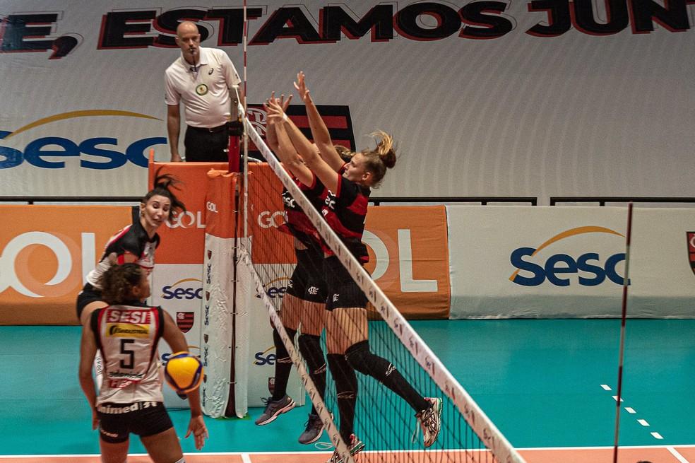 Sesc-Flamengo e Sesi-Bauru — Foto: Paula Reis/Divulgação