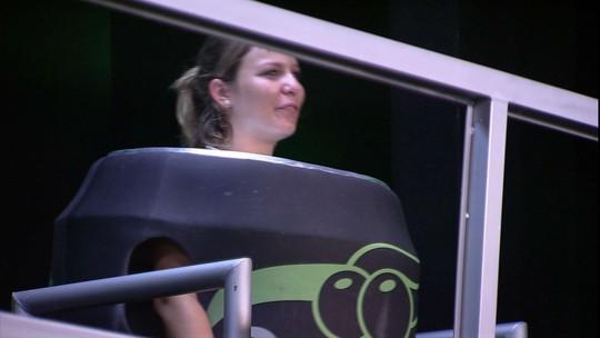 Maria Claudia mostra confiança após 12 horas de prova de resistência: 'Estou ótima'