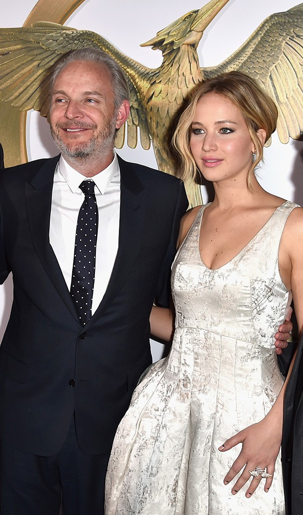 Francis Lawrence e Jennifer Lawrence (Foto: Getty Images)