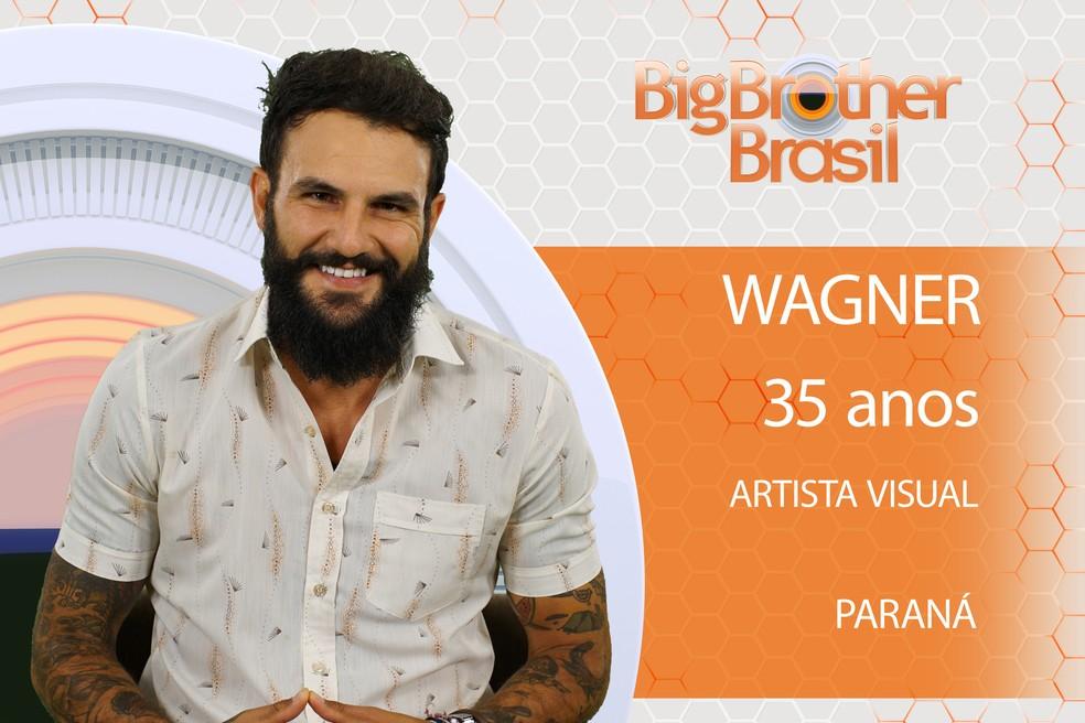 Wagner é participante do BBB18 (Foto: TV Globo)
