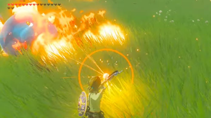 The Legend of Zelda: Breath of the Wild: reaproveite as flechas perdidas no chão (Foto: Reprodução / Thomas Schulze)