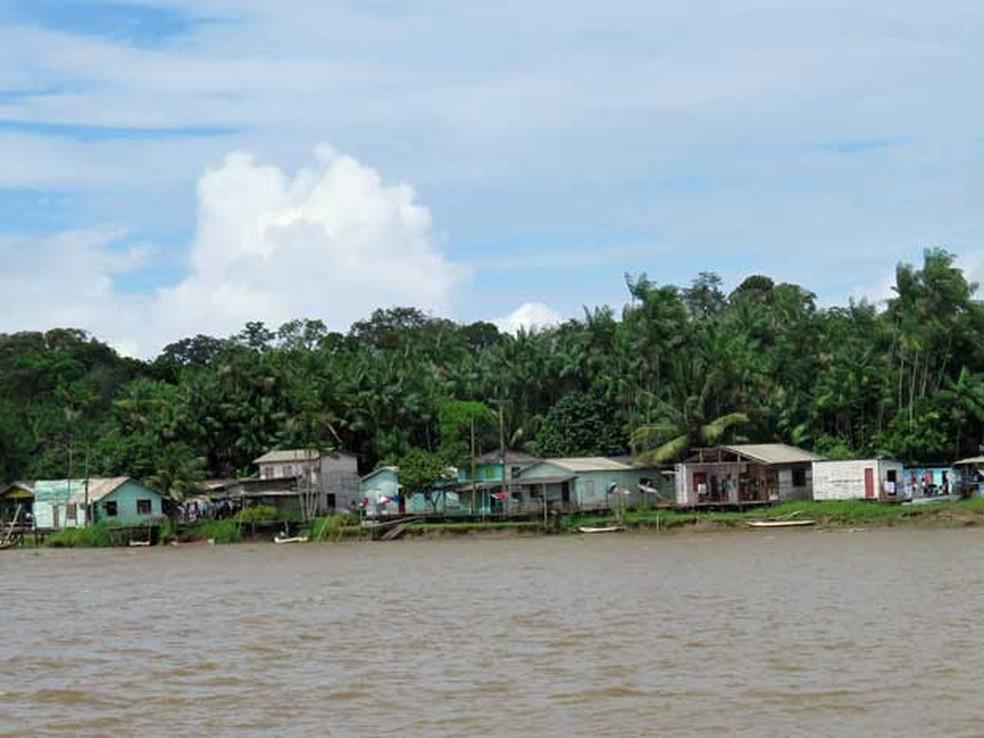 Arquipélago do Bailique, estado do Amapá — Foto: Amélia Gonzalez/G1