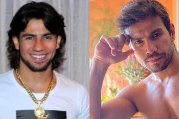 O antes e o depois de Mariano (Foto: Reprodução/ Instagram)