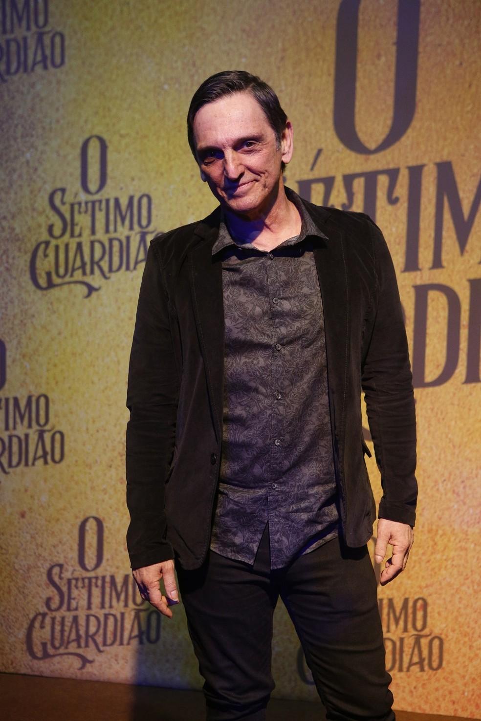 Paulo Miklos será jurandir, um católico fervoroso  — Foto: Fabiano Battaglin/Gshow