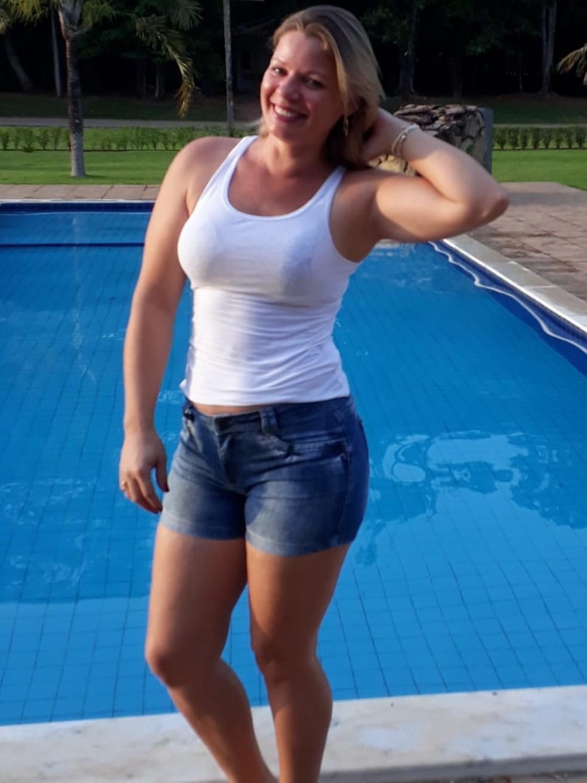 Marta Alves dos Santos Sangi, de 36 anos, foi achada morta em uma vala em Sinop — Foto: Arquivo pessoal