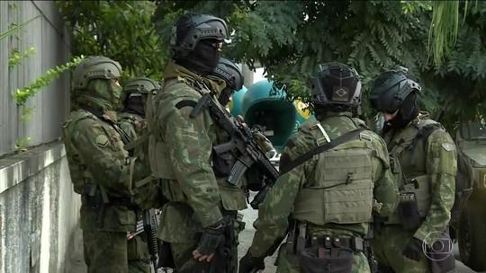 Megaoperação com militares e policiais no RJ prende 13 suspeitos