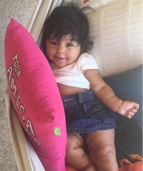Yolanda completa hoje 5 meses de vida (Foto: Reprodução Instagram)