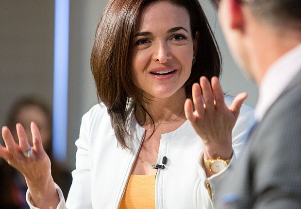Sheryl Sandberg, COO do Facebook (Foto: Allison Shelley/Getty Images)
