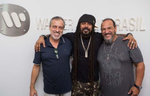 Sergio Affonso, Marcelo Falcão e Wagner Vianna  (Foto: Divulgação)
