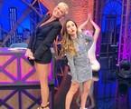 Xuxa foi a convidada de Tatá Werneck na estreia da nova temporada do 'Lady night' | Divulgação