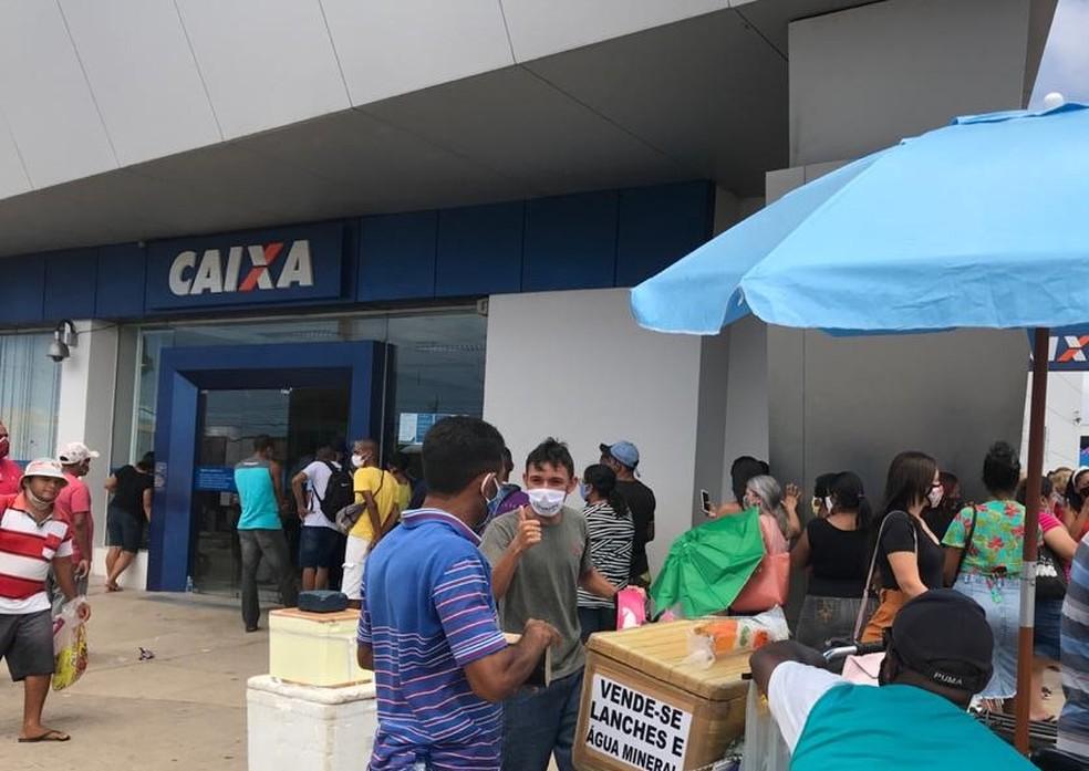 Agência da Caixa em São Gonçalo do Amarante abre neste sábado (17) — Foto: Quézia Oliveira/Inter TV Cabugi