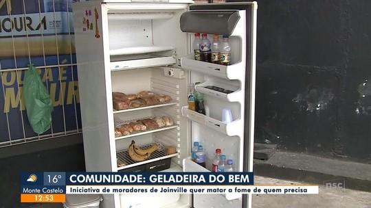 Comunidade: Geladeira do Bem oferece alimentos para quem mais precisa