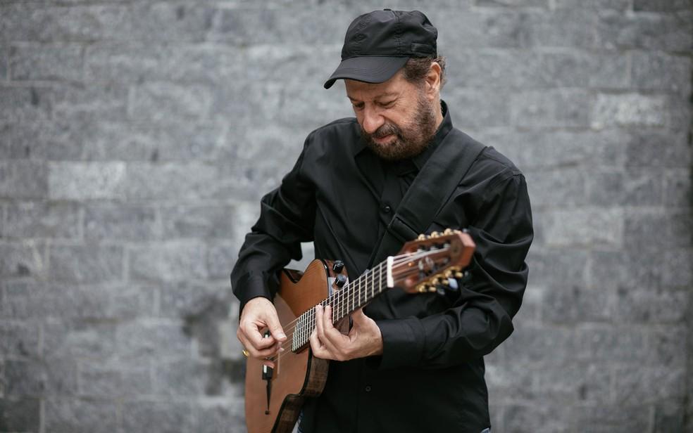 Cantor e compositor mineiro João Bosco vai ao Festival Café com Música — Foto: Flora Pimentel
