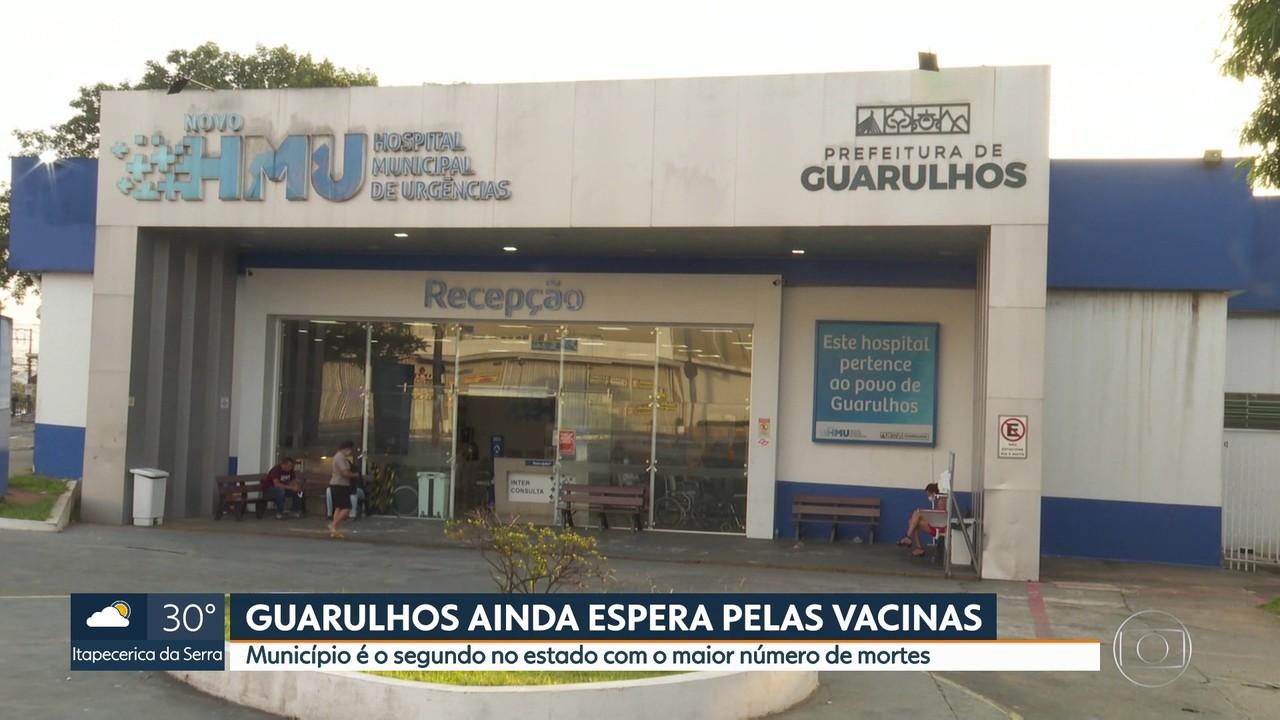Cidades do estado de São Paulo ainda esperam pela chegada das doses da vacina Coronavac