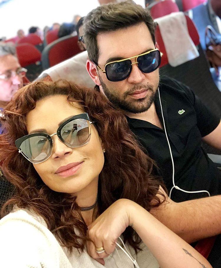 Solange Almeida e o marido, Leandro Andriani (Foto: Reprodução/Instagram)
