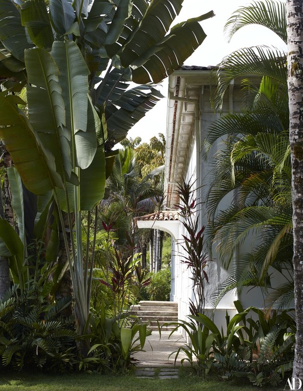 A fazenda de Lenny Kravitz no Rio (Foto: Reprodução Architectural Digest)