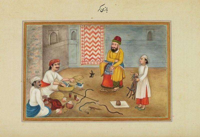 Manipuladores de animais em livro de Skinner. Ele também escreveria sua autobiografia em persa. (Foto: Biblioteca do Congresso dos Estados Unidos)