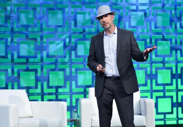 Caribou Honig, chairman da Insuretech Connect durante o evento do ano passado em Las Vegas (Foto: Reprodução/Facebook/InsureTech Connect)