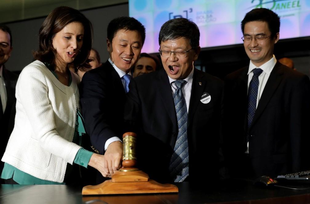 Chineses do Spic levaram a usina de São Simão por R$ 7,8 bilhões em leilão em 2017 — Foto: Reuters