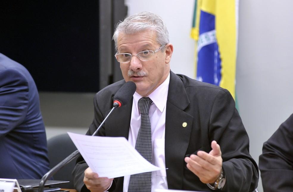 Deputado federal Paulo Folleto  (PSB - ES) — Foto: LUÍS MACEDO/AGÊNCIA CÂMARA