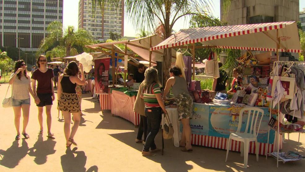 Fest Rio Judaico, maior festa judaica da cidade, faz parte do calendário oficial — Foto: Reprodução/ TV Globo