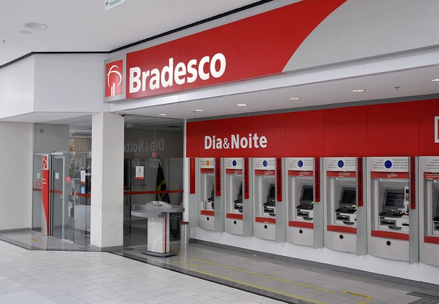 Agência do banco Bradesco (Foto: Divulgação)