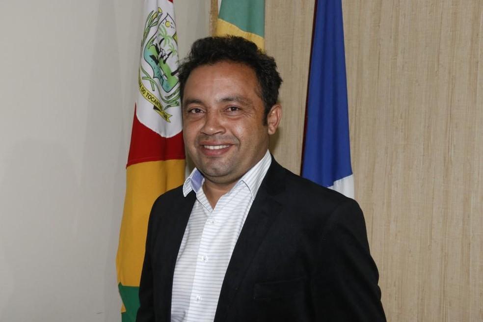 Moisés Costa da Silva, prefeito de Miracema, assassinado em estrada vicinal — Foto: Divulgação/Prefeitura de Miracema
