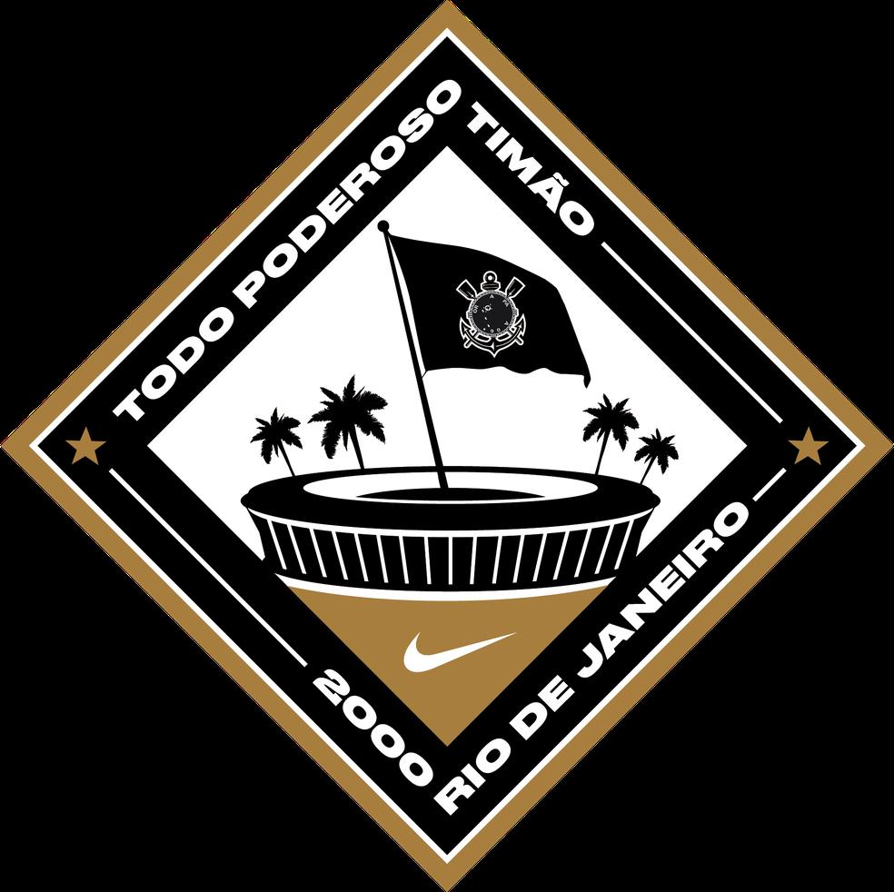 Patch da nova terceira camisa do Corinthians — Foto: Divulgação/Nike