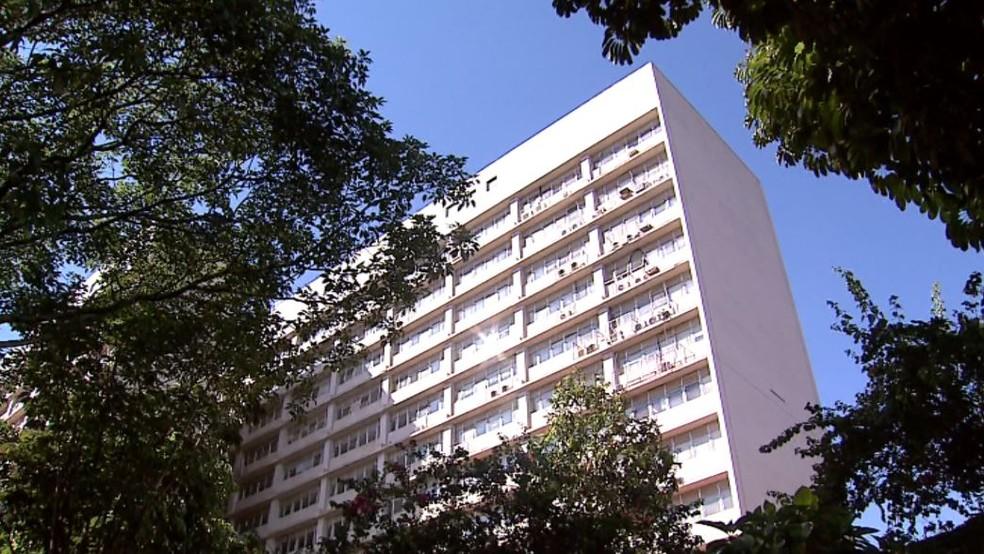 Hospital das Clínicas de Ribeirão Preto (SP) — Foto: Reprodução/EPTV