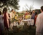 Cena do casamento de Olívia (Giullia Buscacio) e Miguel (Gabriel Leone) | Inácio Moraes/ Gshow