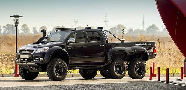 Vídeo: empresa de modificação off-road cria Toyota Hilux ...