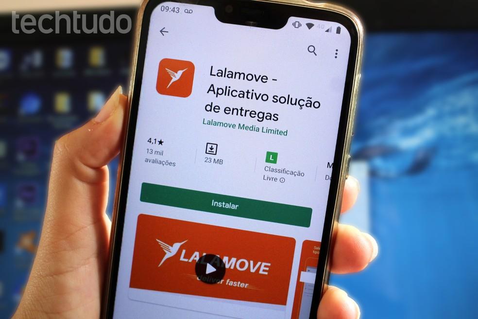 Lalamove vale a pena? Conheça aplicativo de delivery rival do Rappi — Foto: Marcela Franco/TechTudo