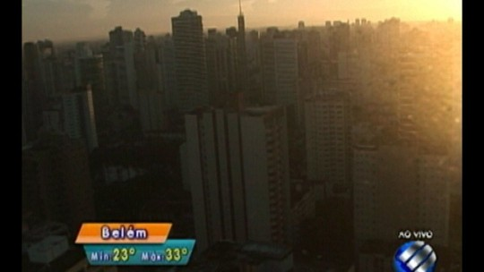 Confira a previsão do tempo em Belém e no interior do estado nesta quarta-feira, 25