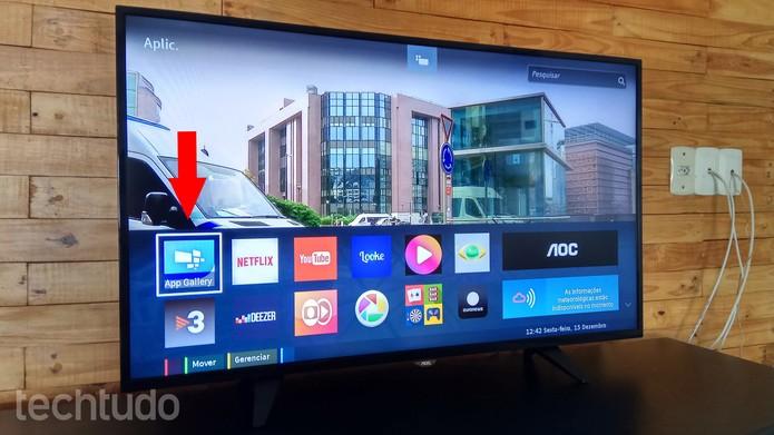 Como baixar e instalar aplicativos na smart TV da AOC | TVs
